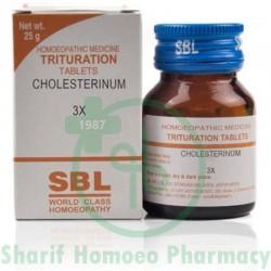 SBL Cholesterinum 3X