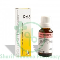 Dr. Reckeweg R63 (Impaired Circulation)