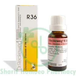 Dr. Reckeweg R36 (Nervous Disease)
