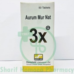 Aurum Mur Natronatum 3X