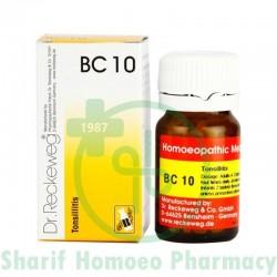 BC 10 (Tonsillitis)