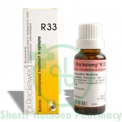 Dr. Reckeweg R33 (Epilepsy)