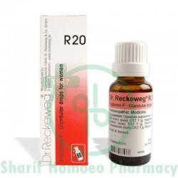 Dr. Reckeweg R20 (Glandular Drops - W)